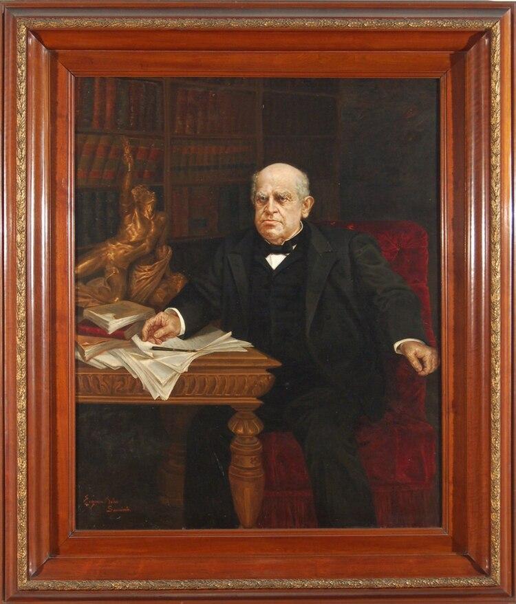 Sarmiento, retratado por Eugenia Belín, su nieta