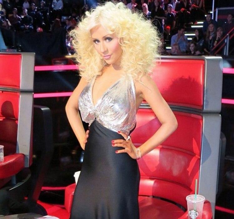 Christina Aguilera consumía alimentos de un solo color cada día (Foto: Instagram)
