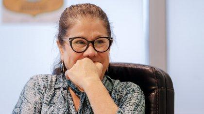 La diputada Graciela Camaño llega al Consejo de la Magistratura