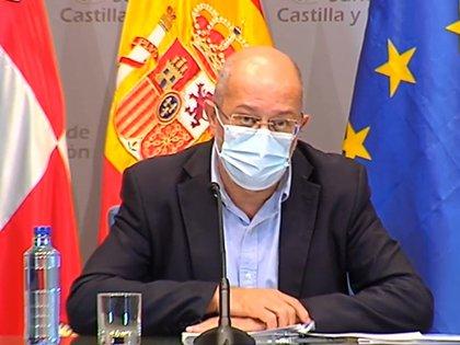01/10/2020 El vicepresidente y portavoz de la Junta de Castilla y León, Francisco Igea. ESPAÑA EUROPA CASTILLA Y LEÓN POLÍTICA JCYL