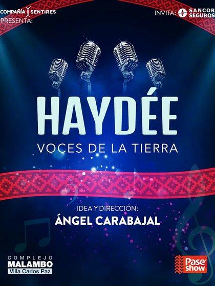 """""""Haydée. Voces de la tierra"""". Espectáculo de Angel Carabajal en homenaje a Mercedes Sosa"""