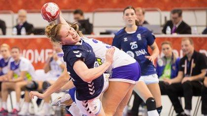 Créditos Fotos: Japan 2019 Malena Cavo en acción en la segunda fecha del Mundial de Handball