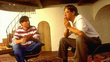 Ambos en una entrevista para la revista Fortune en 1991