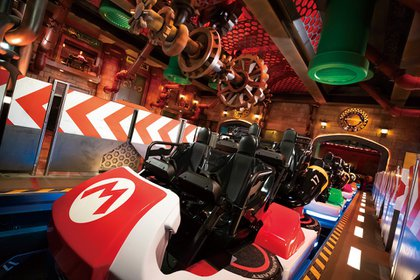 Super Nintendo World presentará una montaña rusa que simulará una carrera de Mario Kart