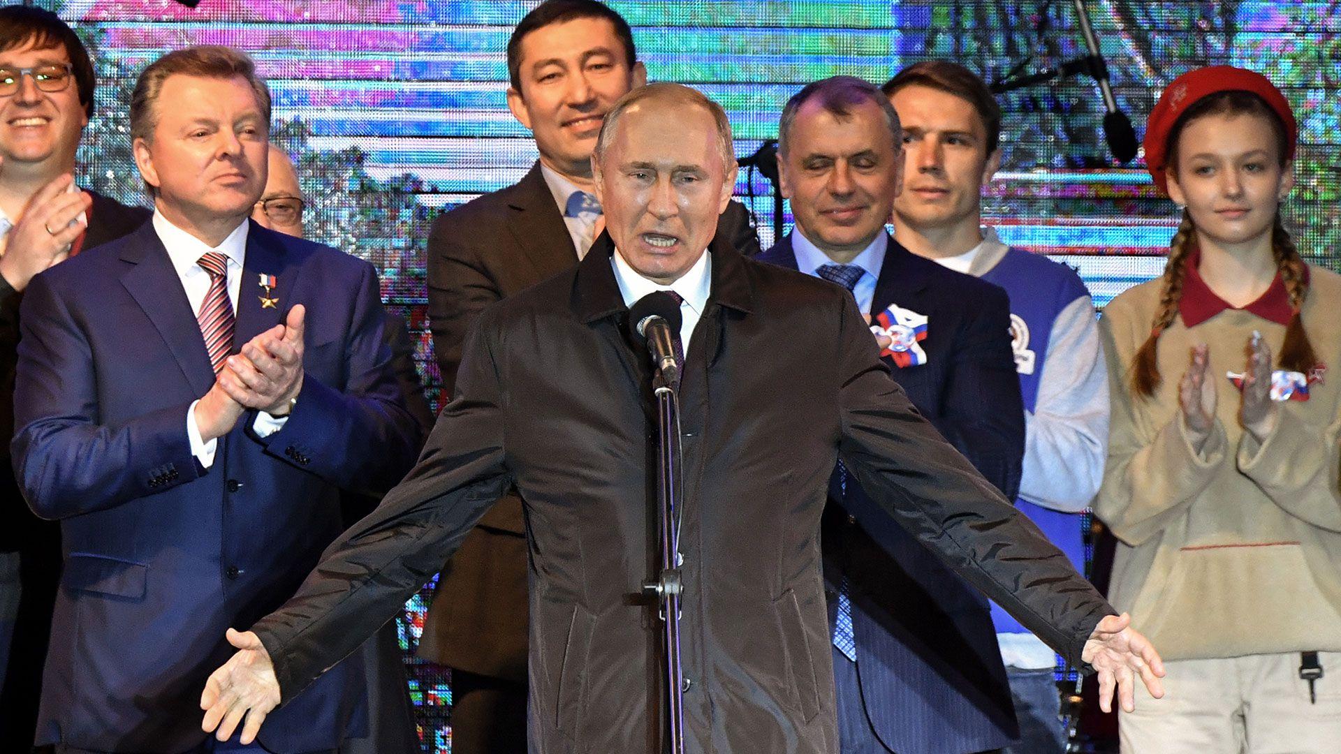 Putin en Crimea (AFP)