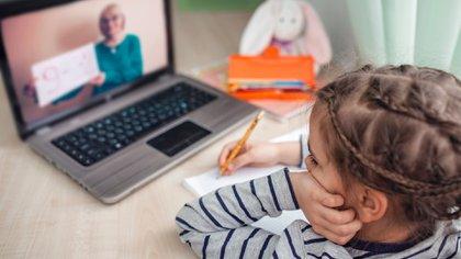 La suspensión de la actividad escolar a poco de iniciado el corriente ciclo lectivo, obligó a transformar el formato del programa y mudarlo a plataformas digitales (Shutterstock)