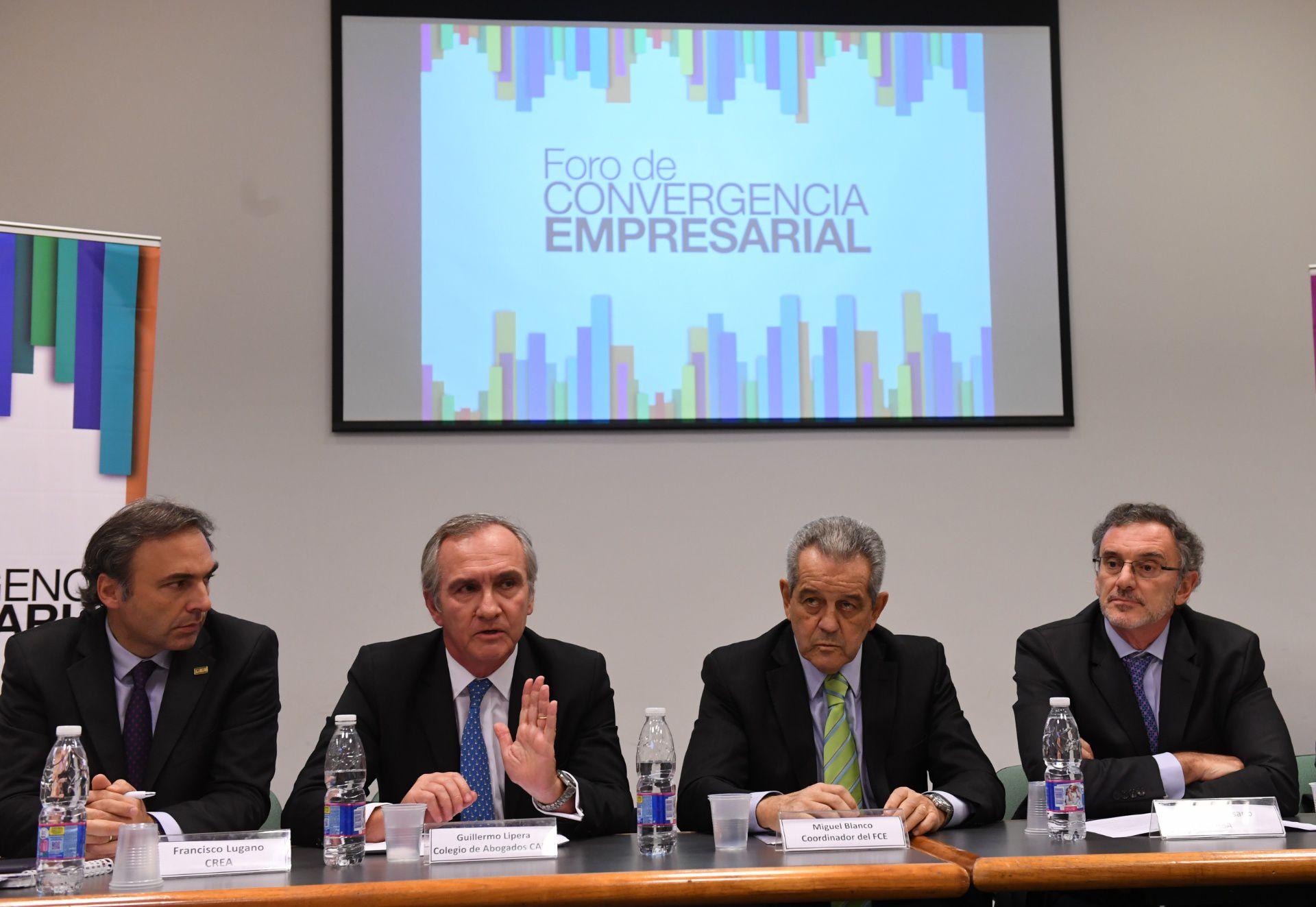 Integrantes del Foro de Convergencia Empresarial (Maximiliano Luna)