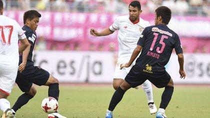 Walter Montoya estuvo una temporada en el Sevilla