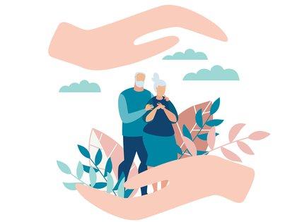Especialmente aquellos en aislamiento y con deterioro cognitivo o demencia, pueden volverse más ansiosos, enojados, estresados, agitados, retraídos o demasiado sospechosos durante el brote (Shutterstock)