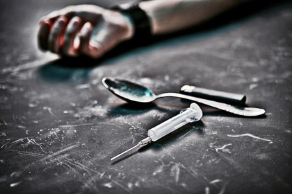 La adicción a la heroína es, en mucho casos, mortal