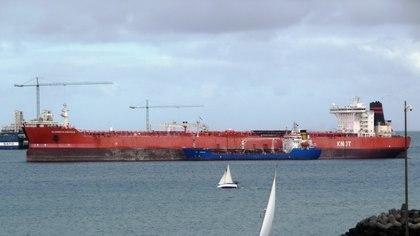 Alex Saab está comerciando el crudo venezolano para evadir las sanciones de Estados Unidos (Marine Traffic/via REUTERS)