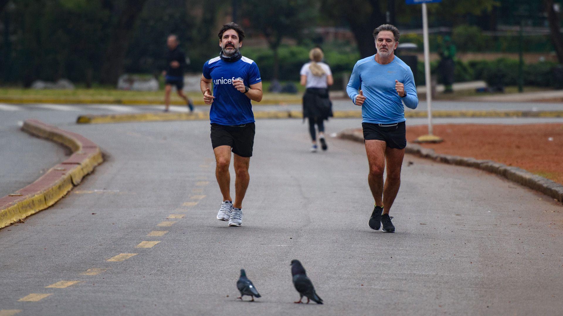 Runners - Bosques de Palermo - Cuarentena