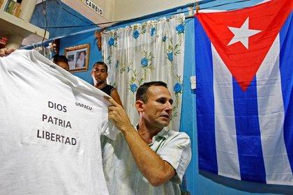 Foto de archivo del disidente cubano Jose Daniel Ferrer. Mar 25, 2012. REUTERS/Mariana Bazo