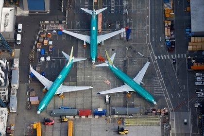 Boeing 737 Max en tierra (Foto: Reuters)