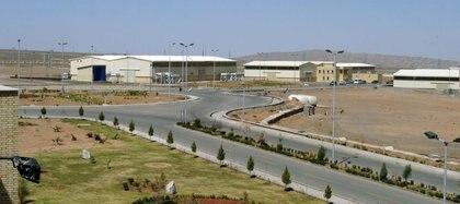 Una vista de las instalaciones de enriquecimiento de uranio de Natanz, a 250 km al sur de la capital iraní, Teherán (REUTERS/Raheb Homavandi)