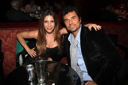Mónica Ayos y Diego Olivera (Crédito: Verónica Guerman / Teleshow)