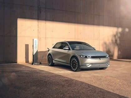 Un diseño innovador pensado totalmente para un vehículo 100% eléctrico (Hyundai)
