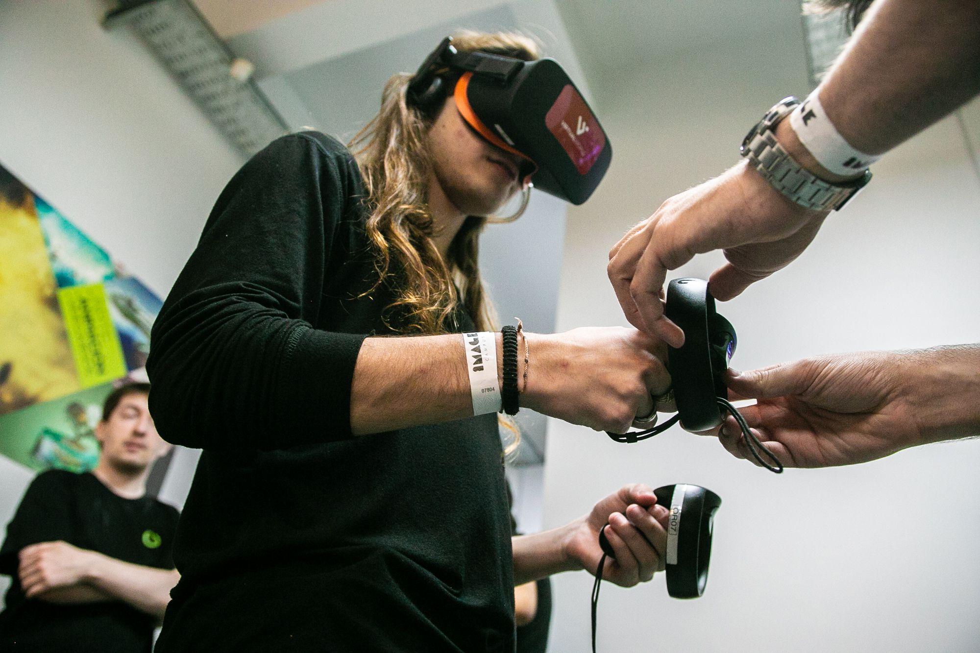 El Encuentro Núcleo combinó arte, videojuegos y robótica.