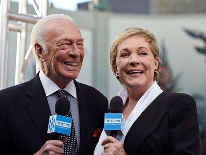 Christopher Plummer y Julie Andrews. (Foto: Kevork Djansezian/Reuters)