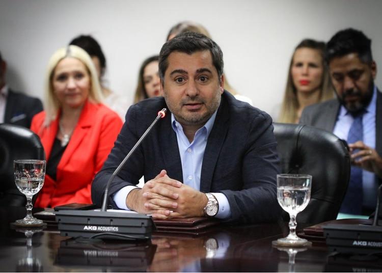 Diego Molea, instructor de la investigación contra el juez Luis Rodríguez