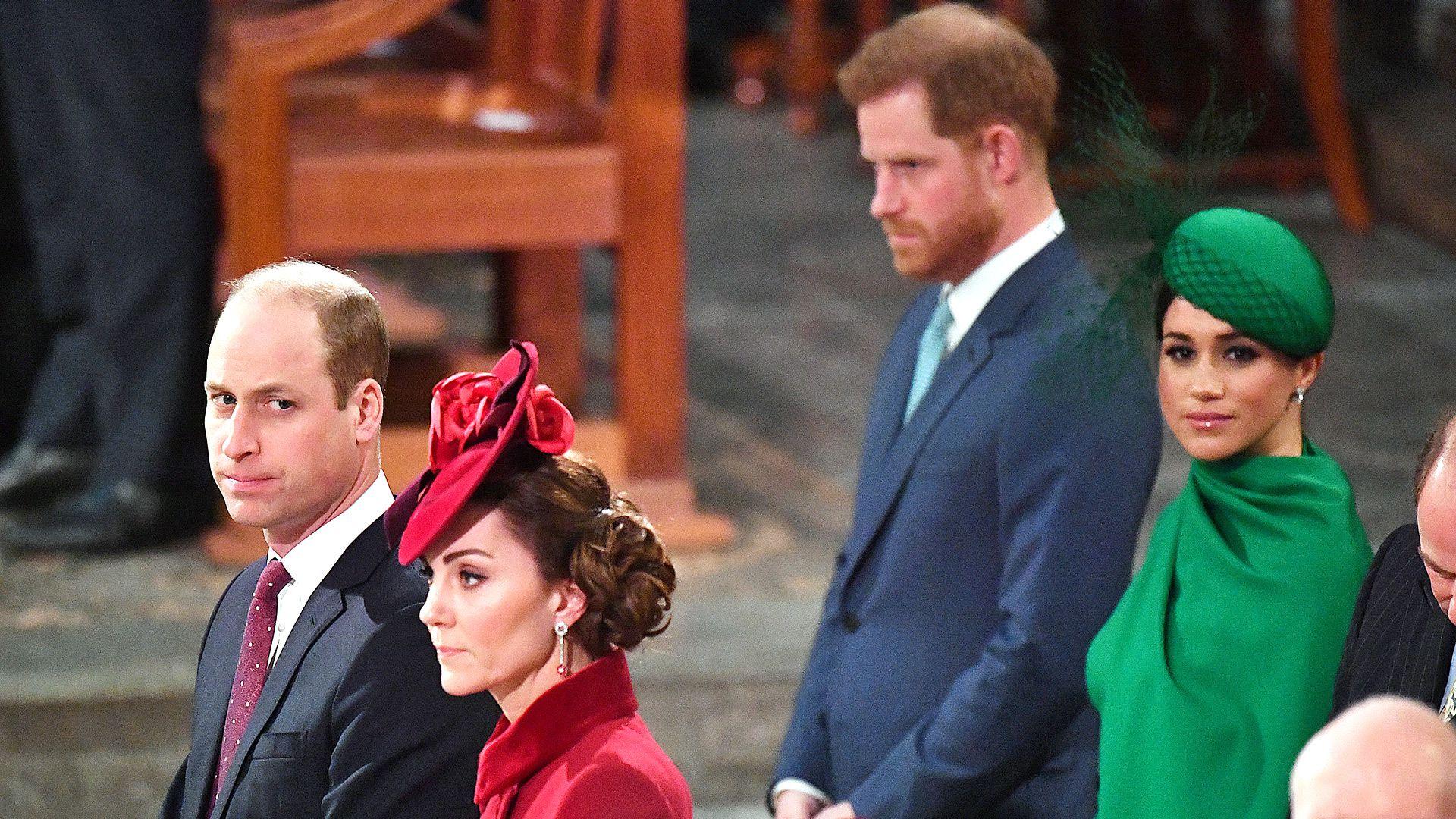 Meghan sintió que Kate evitó hacer contacto visual con ella ese día (AFP)