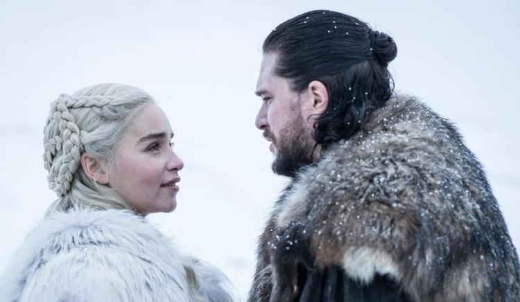 Jon Snow y Daenerys Targaryen, los protagonistas de la última temporada de la serie (Foto: HBO)