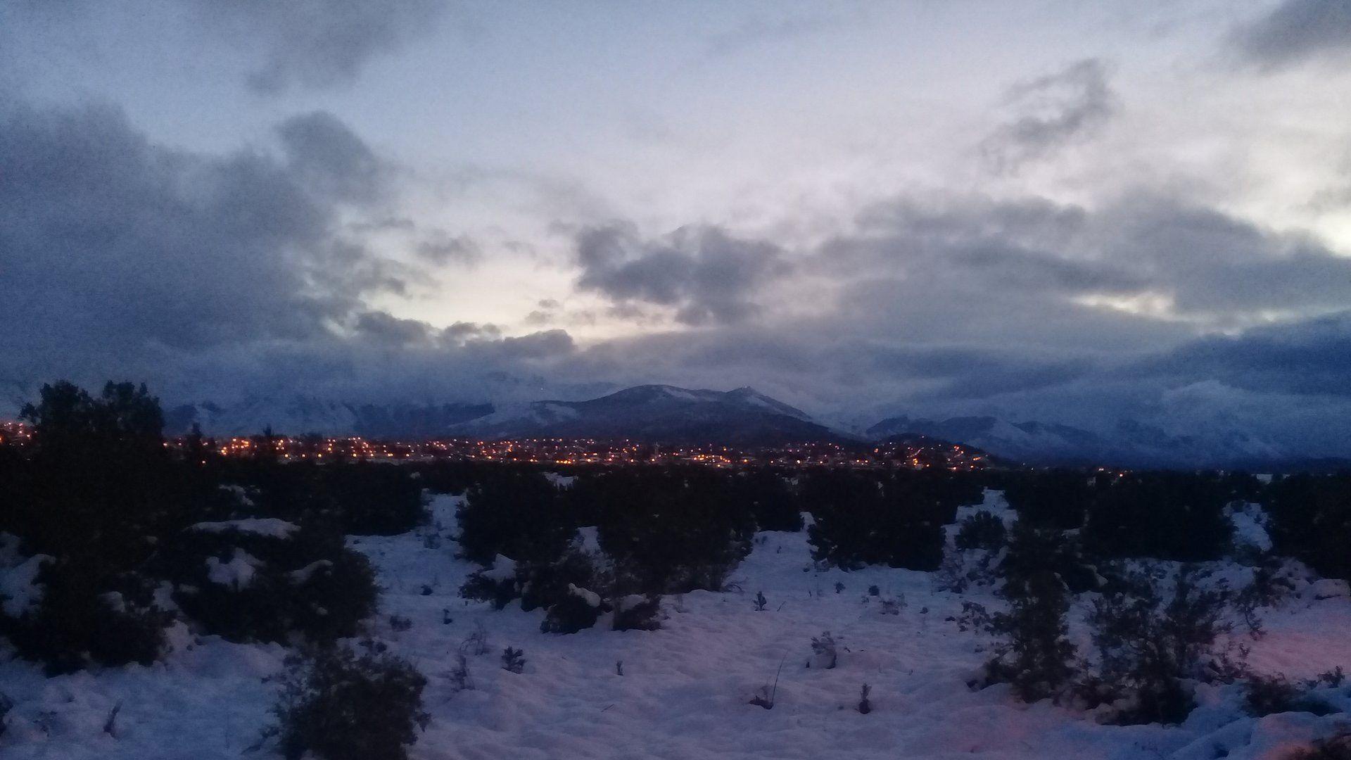 El temporal de nieve afectó a uno de los principales destinos turísticos del invierno (@NannoCepe)