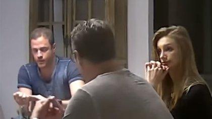 Captura del video en el que se lo observa al ex vicecanciller austriaco aceptando sobornos