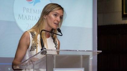 La Presidente de Marianne Argentina, Eugenia Botta quien dirigió unas emotivas palabras recordando a Emmanuelle Baupame de Supervielle, quien falleció el año pasado