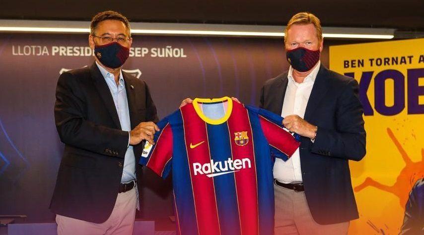 """""""No sé si tengo que convencerlo"""", dijo el entrenador del Barcelona sobre Messi"""