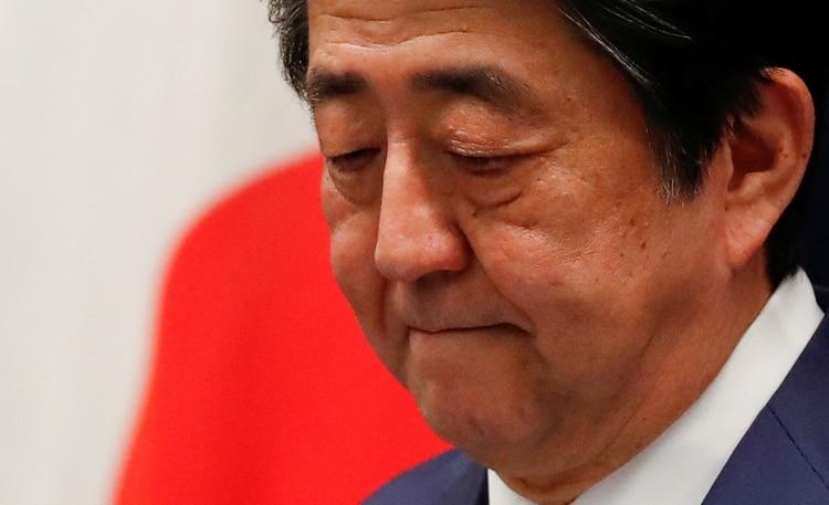 El primer ministro de Japón Shinzo Abe confirmó el aplazamiento de los Juegos Olímpicos (REUTERS/Issei Kato/File Photo)
