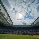 Foto de archivo: vista general de la cancha central de Wimbledon. 14 de julio de 2019; Susan Mullane-USA TODAY Sports