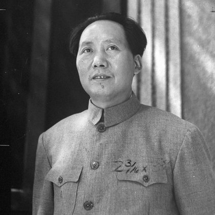 Mao Zedon, líder de la Revolución Comunista de China (Getty Images)