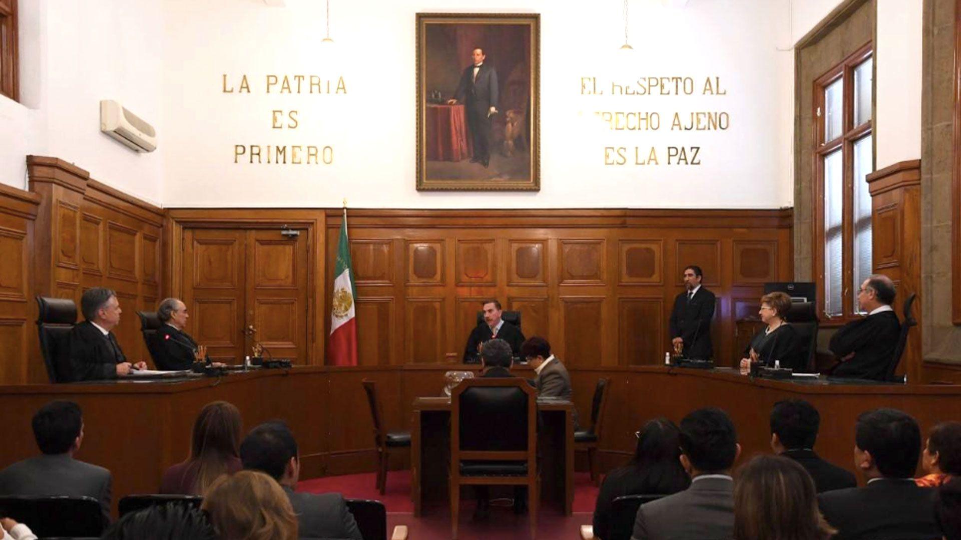El espacio del ministro tendrá que ser sometido a la aprobación del Senado (Foto: Facebook SCJNMexico)