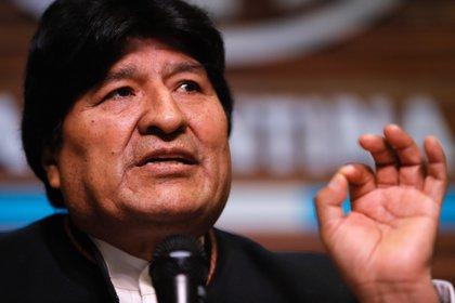 El expresidente de Bolivia Evo Morales. EFE/Juan Ignacio Roncoroni/Archivo