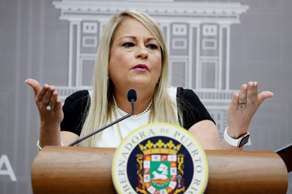 La gobernadora de Puerto Rico, Wanda Vázquez. EFE/Thais Llorca/Archivo