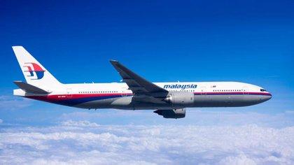 Así era el avión Boeing 777-200 de Malaysia Airlines que desapareció el 8 de marzo de 2014 luego de despegar de Kuala Lumpur con destino Beijing. Transportaba a más de 200 personas a bordo