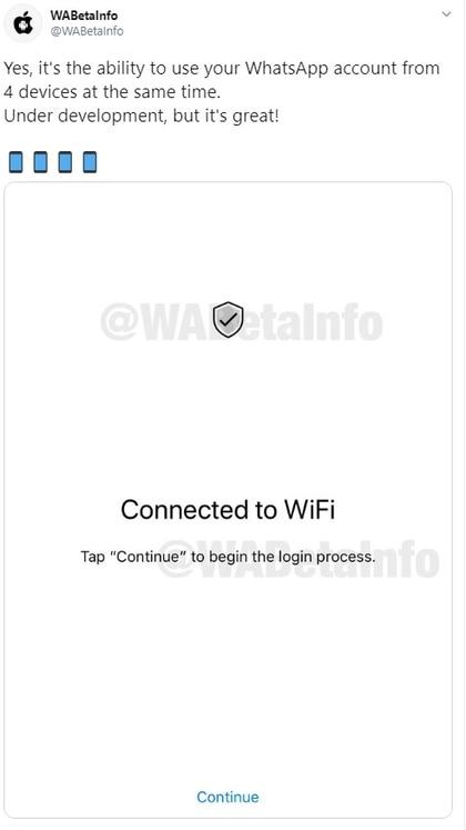 El sitio WABeta info anticipó la herramienta que está en beta (WaBeta Info)