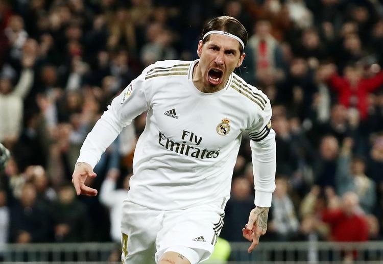 Sergio Ramos marcó el 2 a 1, de penal (Reuters)