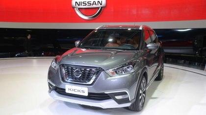 El Nissan Kicks fue presentado por primera vez en Sudamérica en el Salón de Buenos Aires de 2017