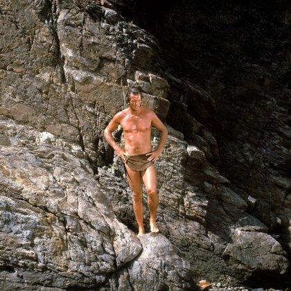 Ron Ely como Tarzán, en 1966 (Shutterstock)