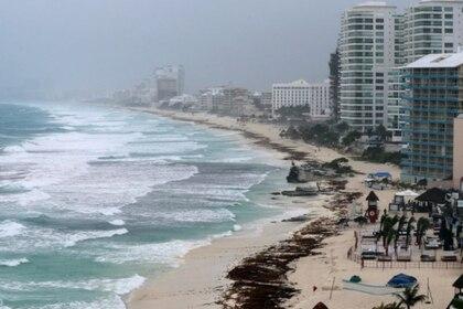 En el 2020 las playas no han presentado sargazo (Foto: Archivo)