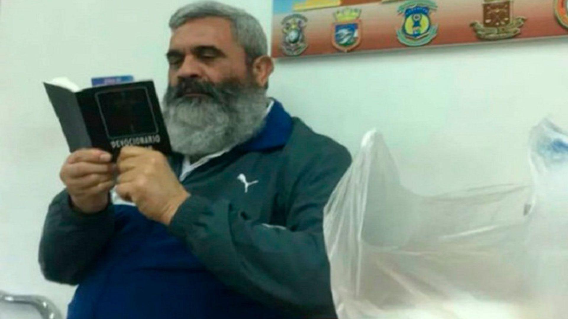 Una de las últimas imágenes de Baduel en prisión
