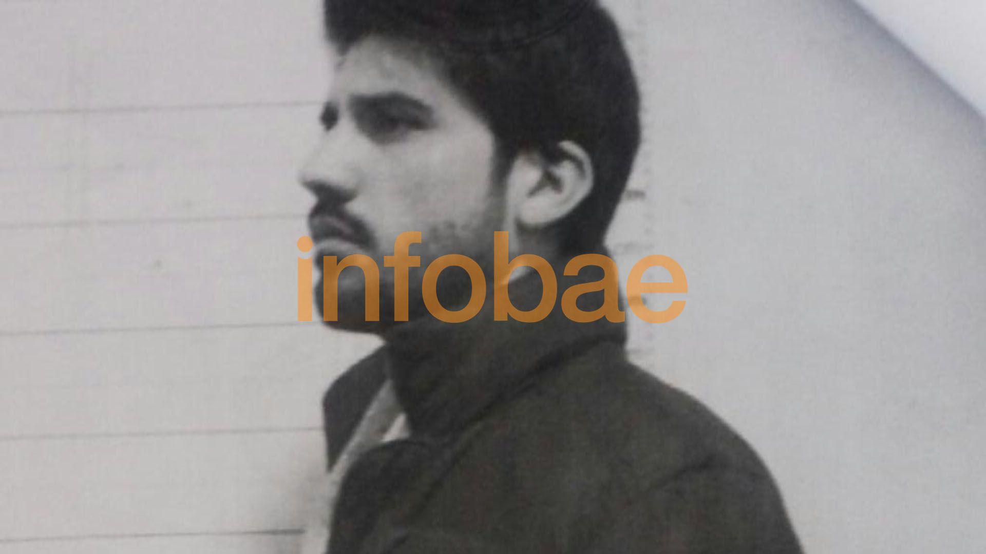 Eugenio Veppo, al momento de ingresar a prisión
