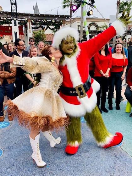 Guzmán se mostró divertida en Navidad (IG: laguzmanmx)