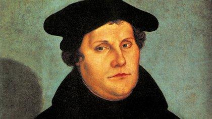 Martín Lutero (1483-1546), monje agustino, profesor de teología, iniciador de la Reforma protestante