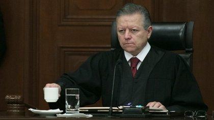 Arturo Zaldívar, ministro presidente de la Suprema Corte de Justicia de la Nación (Foto: Cuartoscuro)