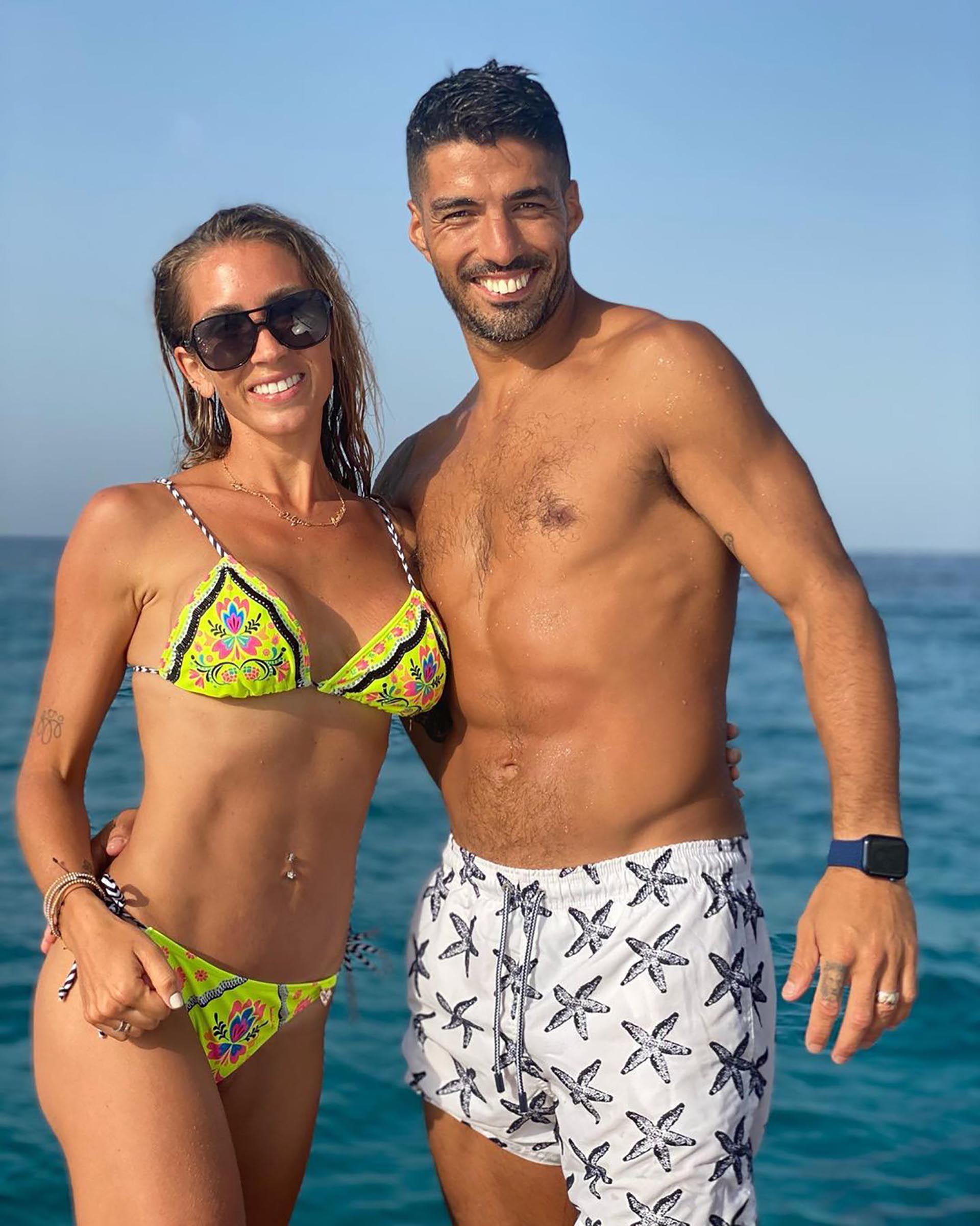 Suarez con Balbi en Ibiza