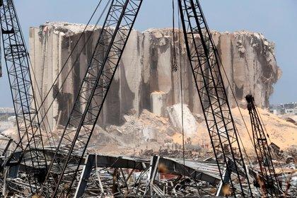 El lugar de la la explosión (REUTERS/Thaier Al-Sudani)