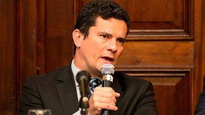 Ex ministro de justicia de Brasil Sergio Moro